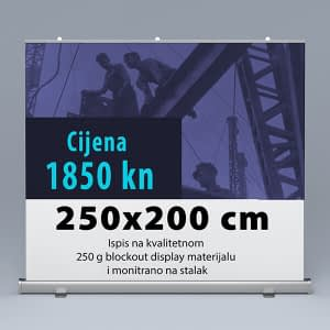 Roll-up 250x200cm 3