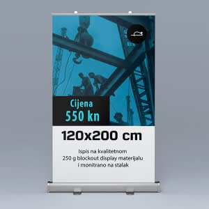 roll-up 120x200cm