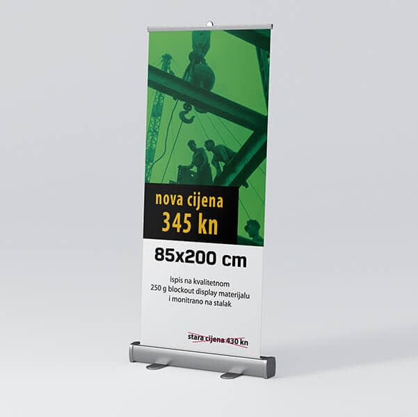 Roll-up 85x200cm 3