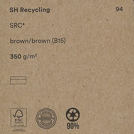 SH recycling brown350