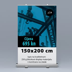 Roll-up 150x200cm 1